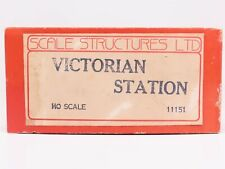 HO 1/87 Scale Structures Ltd 11151 Victorian Station Building Kit w/ Interior