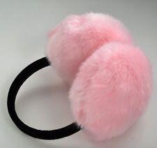 Faux Fur Fluffy Winter Ear Muffs/Warmer/Earlap/Earmuff w/Adjustable Headband