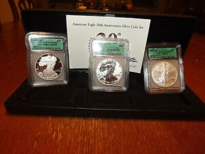2006- American Eagle 20th Anniversary set (MS-70 )