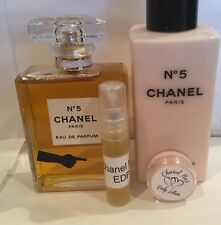 Chanel No5 - 3ml Perfume & Body Lotion Set