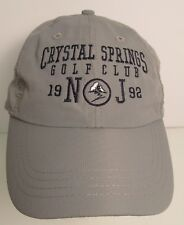 Crystal Springs Hat Ball Cap Golf Club New Jersey USA Embroidery Unisex New