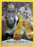 2005-06 Fleer Flair Showcase Upper Level #80 Marc Andre Fleury Penguins