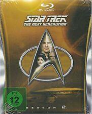 Star Trek Next Generation Season 2 Blu-Ray NEU OVP Sealed Deutsche Ausgabe