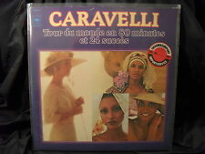 Caravelli - Tour Du Monde En 80 Minutes Et 24 Succes    2 LPs