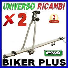 2 Portabici da tetto  - CORA Biker PLUS