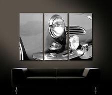 VINTAGE FRONT DETAILS KARMANN GHIA Leinwand Bild Nostalgie Klassiker 60er 60s XL
