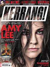 KERRANG Magazine Amy Lee EVANESCENCE NEW