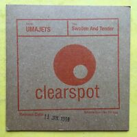 Umajets - Swollen And Tender - Card Sleeve - 11 Track Album Promo CD (ENA286)