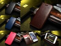 For iPhone 11 PRO MAX XS XR Case Genuine Musubo Leather Wallet Card Stand Cover