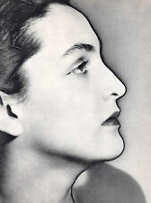 "Vintage 1940 'MERET OPPENHEIM' by MAN RAY --photo art--20"" x 16"" SOLARIZED"