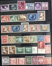 Germany Third Reich 1942-1943 issues MNH/MLH