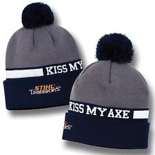 STIHL Timbersports Knit Beanie Hat Cap Kiss My Axe!