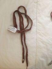 $48 CHAN LUU Chiffon Necktie Choker Necklace Rust NWOT