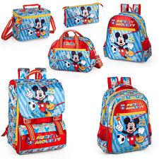 Disney Mickey Mouse Mochila Escolar Morral De Primera Calidad De Viaje Bolsa Almuerzo Bolso 28