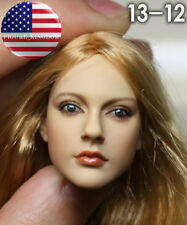 "1/6 Avril Lavigne Head Sculpt KUMIK 13-12 For 12"" Hot Toys PHICEN Kumik Figure"