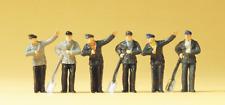 Preiser 14014 Steam Loco Crews (Pk6) OO/HO Gauge Figures