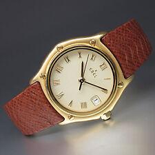 Ebel 1911 Lady Medium Damen Quarz Uhr in 750/18K Gelbgold mit Box