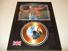 CLIFF RICHARDS  SIGNED   GOLD   DISC   DISPLAY 6