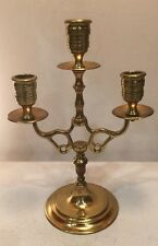 Three in One Brass Candle Holder