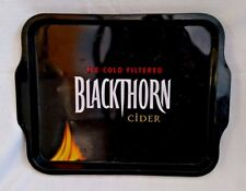 Blackthorn Cider ice cold filtered black Metal Tray pub bar man cave mancave