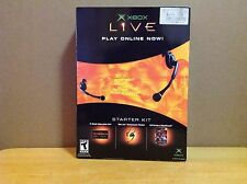 [Rare Collectible] Original XBOX Live Starter Kit - Comes With Headset - Sealed