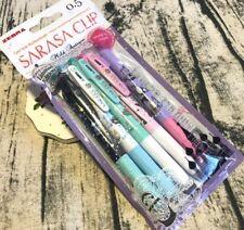 2018 NEW LIMITED EDITION Zebra Sarasa Clip Pens Mild Antique Set 5 Colors Pack