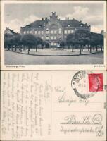 Ansichtskarte Wittenberge Jahn-Schule 1944