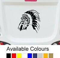 Indian Chieftain | CARAVAN MOTORHOME CAMPER | STICKER DECAL-GRAPHIC | BB224