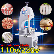 Automatic Bone Sawing Machine,Frozen Meat Bone Cutter Food Cutting Machine 110V