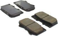 Disc Brake Pad Set-Premium Semi-Met Pads with Shim and Hardware Front Centric