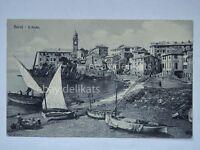 NERVI il porto barche pescatori Genova cartolina boat pescatori fisherman SUPER