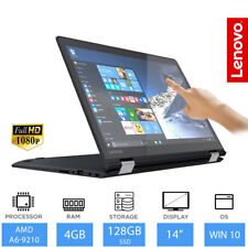 "Lenovo Yoga 510 - 14"" Convertible 2-in-1 Laptop/Tablet AMD A6, 4GB RAM 128GB SSD"