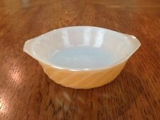 Anchor Hocking Fire King, Peach Luster, Ovenware Small Baking Dish