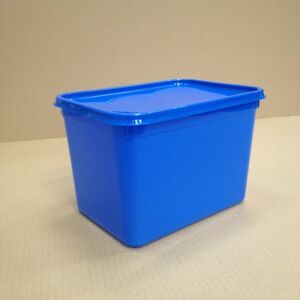 Plastic Storage Containers 50 x 4ltr Rectangular BLUE