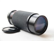 Sunagor 80-305mm F5.6 Zoom Lens with Olympus OM Film Mount. Stock No. U6848