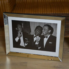 Wandbild Spiegel Rahmen Ratpack Sinatra Martin Davis Kunstdruck Bild Druck neu