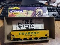 Vintage Athearn - Car in Box - Very Nice - 1756 Peabody Hopper Car
