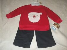 NEW CHILD OF MINE CHRISTMAS OUTFIT INFANT BOYS 3-6 MO ~~~ SANTA