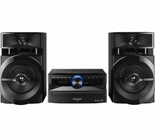 PANASONIC SC-UX100E-K Bluetooth Megasound Party Hi-Fi System - Black - Currys