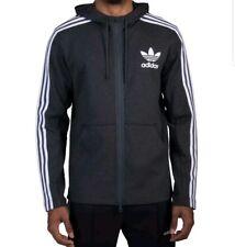 NEW Adidas Originals Curated Q3 FZ Hoodie BR4249 Mens Size MEDIUM Grey Jacket
