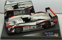 132006M-GL LM Miniatures Audi R8 Le Mans 2004 #5 RARE Hand built resin slot car