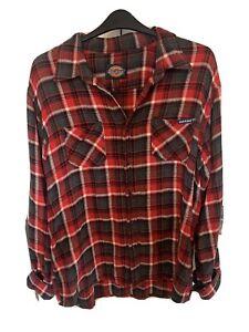 Dickies Red Plaid Shirt 2XL