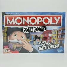 Monopoly for Sore Losers - DON'T GET SAD. GET EVEN! - New Hasbro Board Game