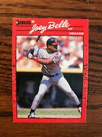1990 Donruss #390 Albert Joey Belle Baseball Card Rookie RC Cleveland Indians