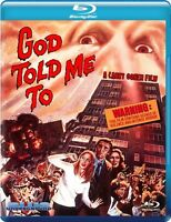 God Told Me To (2015, Blu-ray NUOVO) (REGIONE A)