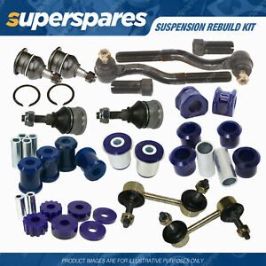 Front SuperPro Suspension Rebuild Kit for Ford Falcon BA BF 02-07