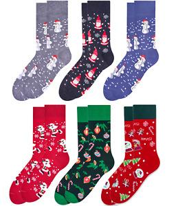 Herren Weihnachtssocken Winter Strümpfe Herren Geschenk Xmas verschiedene Design