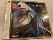 STARFOX 64 N64 CLUB NINTENDO RARE JAPAN OST CD GAME ANIME SOUNDTRACK STAR FOX