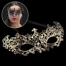 Delicate Venetian GOLD Metal Mask Filigree Masquerade/ Ball/. Prom . UK STOCK