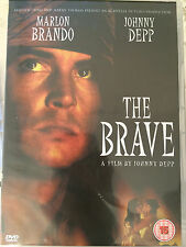 Johnny Depp Marlon Brando THE BRAVE ~ 1997 Cult Drama ~ UK DVD